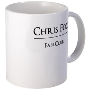 Chris Fox Fan Club Mug